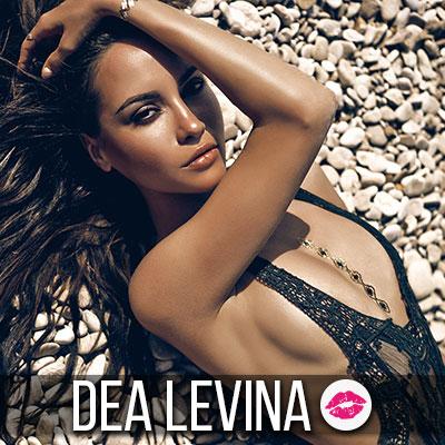 Werde zu Dea Levina's Urlaubs-Lecksklaven